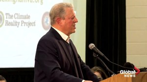 Al Gore joins local protest against compressor station in Virginia
